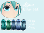 Winter texture pack 1. (eye+hair+spa) by Relomi