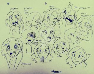 Expressions  by MariposaAzul98