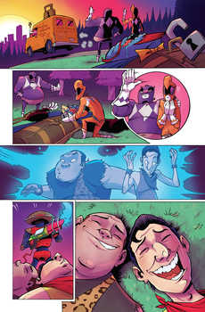 Mighty Morphin' Power Rangers Annual pg. 8 COLORS by Taylor-the-Weird