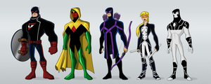 Avengers Redesign by payno0
