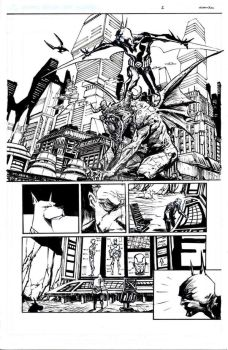 batman beyond test page by BChing