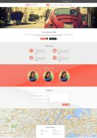 Connection Web Template (PSD included) by 5p34k