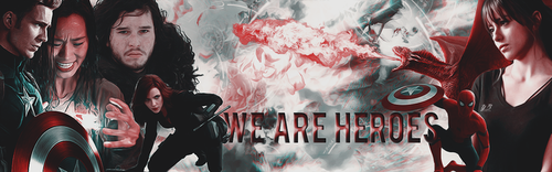 We are heroes [signature] by YuriBlack