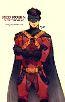 Red Robin_outfit remake by MabyMin