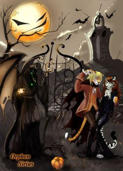 helloween for Tish by Orphen-Sirius