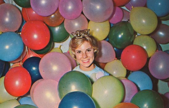 Vintage Ohio - Queen of The Balloon Festival by Yesterdays-Paper