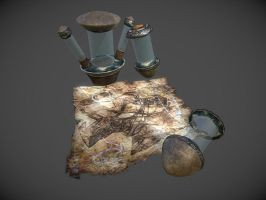 Dwemer Artifacts by InsanitySorrow