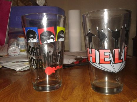 The Beatles collectable cups. by Loth-Eth