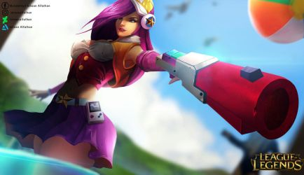 arcade miss fortune  by Ichsanalfathan