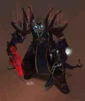 Apoq - the Nether Blades by DOXOPHILIA