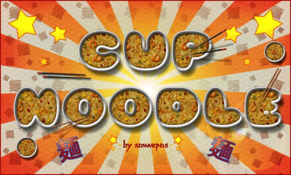 Cup noodle style by sonarpos