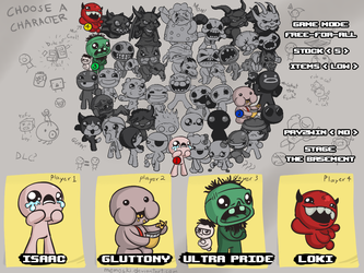 The Deathmatch of Isaac v2 by Memoski