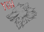Angry Smile Canine YCH Auction [CLOSED] by KolaWolf