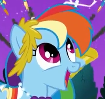 Rainbow Dash is Happy by RainbowDashHappyPlz