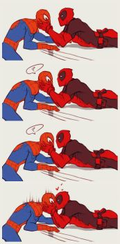 Spideypool by LKiKAi