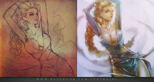 ELSA: Before and After CG process by STECHA191