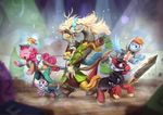 Through Ogres and Oubliettes by AssasinMonkey