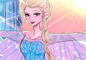 Let The Storm Rage On!!!!!!!!!!!!!!!!!!!!!!!Elsa// by runningpot