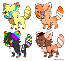 Dog adopts by xXfrosted-lightsXx