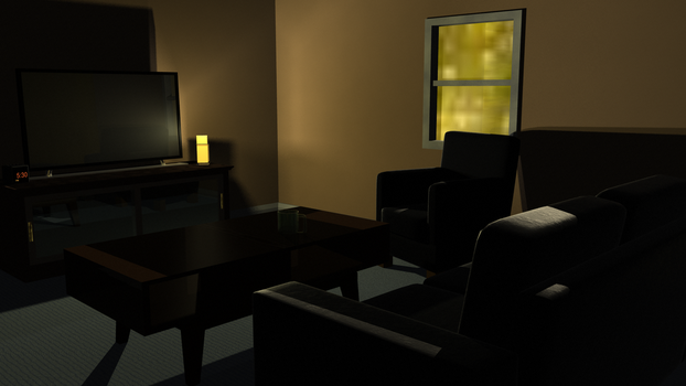 Living Room CG Project by Vincent-Wullf