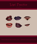 Lips (low resolution) by TheLuciferArt