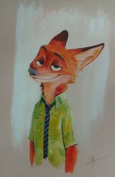 Nick Wilde by Aguilas