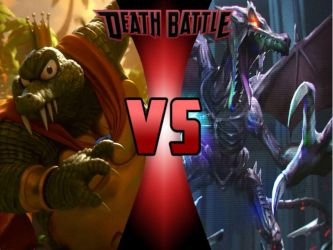 K Rool vs Ridley by ToxicMouse77