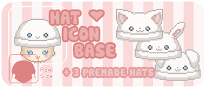 Hat Icon Base by Mizzi-Cat