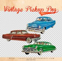 Vintage Pickup stock by caotiicah
