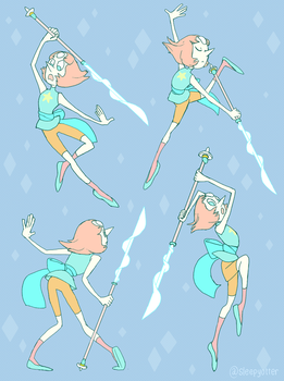 Batch of Fighting Pearls by sleepyotter