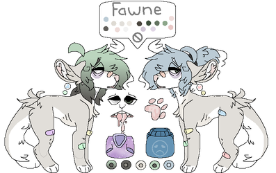 Fawne Reference by piggypen