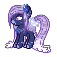 HoloCoffee Pony Offer-To-Adopt #1 [Closed] by TheDarkestRoses