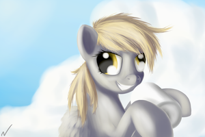 Good Morning Derpy by Newlifer