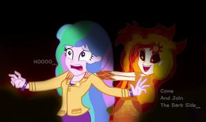 Celetia And DayBreaker As Eg by SpeedPaintJayvee12