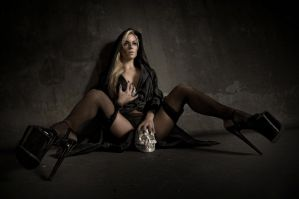 fallen nun by creativephotoworks
