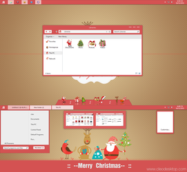 Bel Red Theme for Win8/8.1 by Cleodesktop