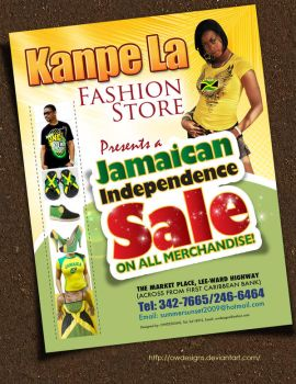 Independence Sale flyer by owdesigns