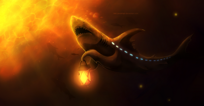 AT: Fiery Waters by Ink-Leviathan