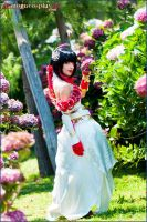 Flowers for Dynasty Warriors by MoguCosplay