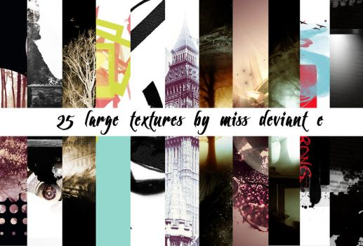 25 texture pack by Miss-deviantE