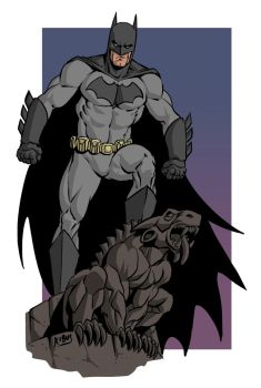 Batman by RubusTheBarbarian