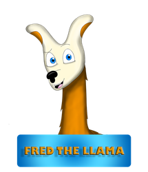 Fred the Llama photoshop by Bronson365