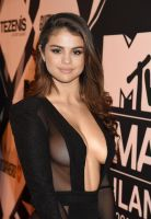Selena Gomez Takes a Ride in Amanda Cerny's Body by AlteredAtom