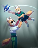 Father and son by RedScarf045