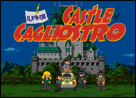Lupin III - Castle of Cagliostro Title Card by penguintruth