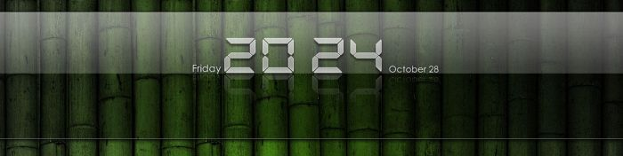 iPad Clear Clock for XWidget by boyzonet