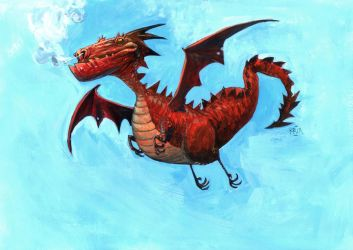 Red Dragon by rogercruz