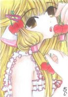 Chii of Chobits by kensetsushAira