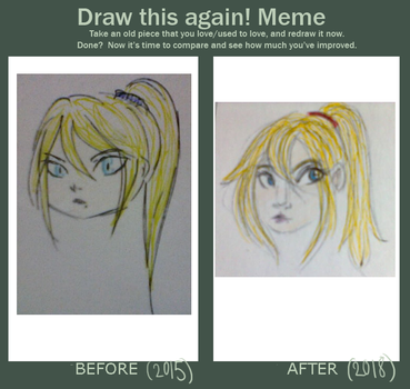 Before and after meme by sonikkuruzu