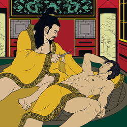 Emperor Ai of Han + Dong Xian by MeteoDesigns